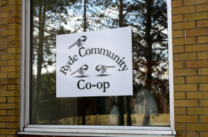New Co-op Sign