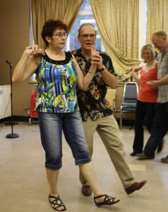 Square Dancing: George and Mary
