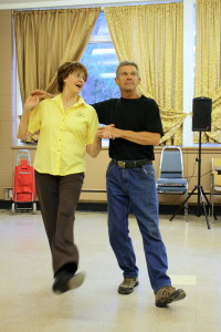 Square Dancing: Rick and Sue