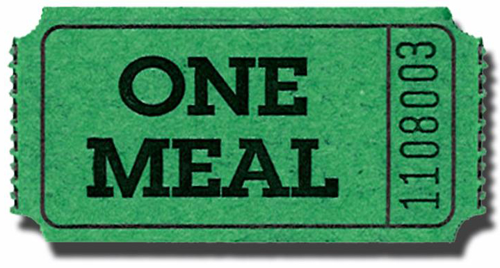 The Ryder Ryde Community Cooperative Inc – Meal Ticket Template