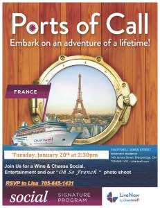 Port of Call for January